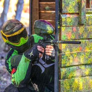 Paintballing in Berlin